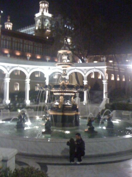 Fountain in Baku city centre, Azerbaijan